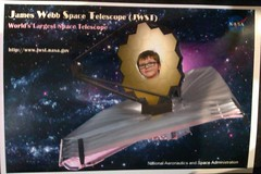 JWST extravaganza - Z on the telescope by m0nk3yphd