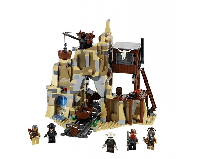 LEGO The Lone Ranger 79110 - Silver Mine Shootout