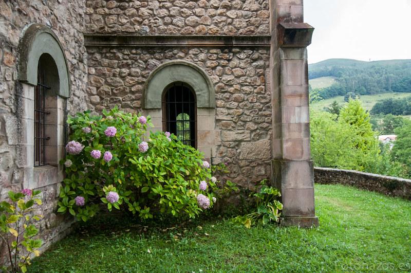 La iglesia parroquial de Valle en Cabuérniga