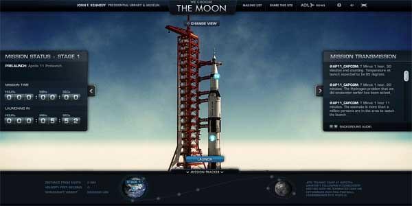 we choose the moon cool flash websites 2013