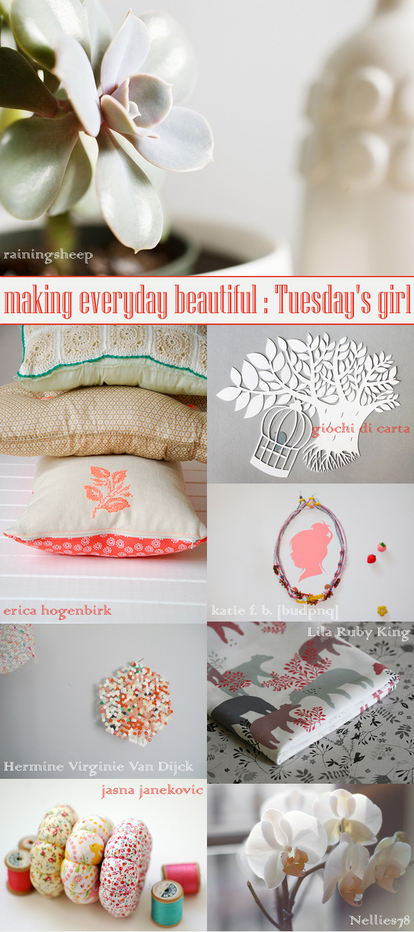 making everyday beautiful : Tuesday's girl | Emma Lamb