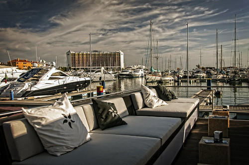 The trendy Marina of Vilamoura