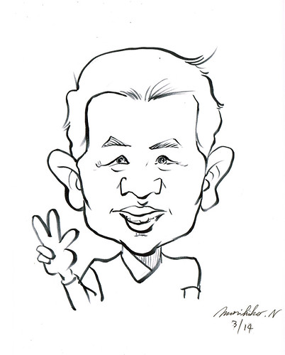 Jit caricature by Mr Morihiko Nagaguchi
