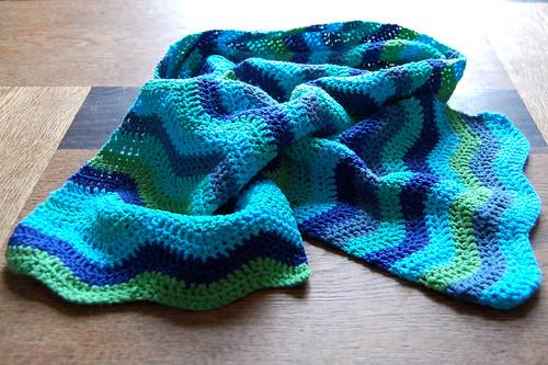 Ripple scarf - TaDah!