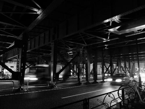 FUJIFILM X20 overhead railway