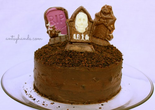 Graveyard Chocolate Cake AH