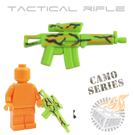 Tactical Assault Rifle - Lime Green (camouflage)