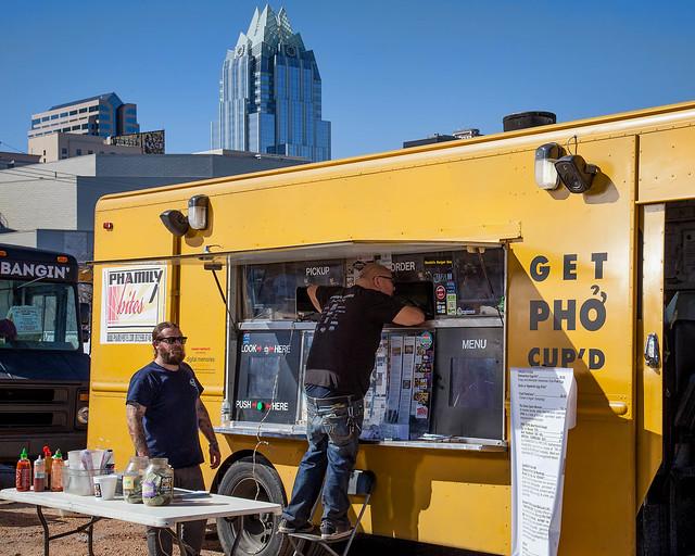 Food Trucks Near Austin Convention Center