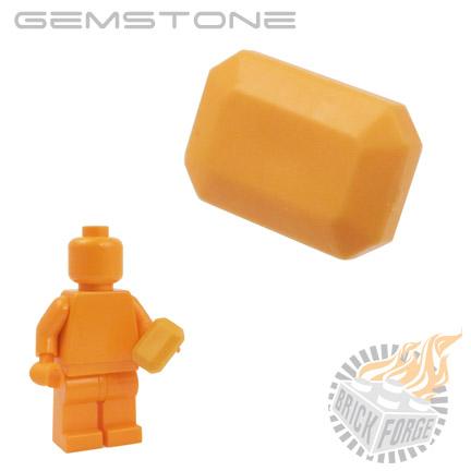 Gemstone - Medium Orange (Carnelian)