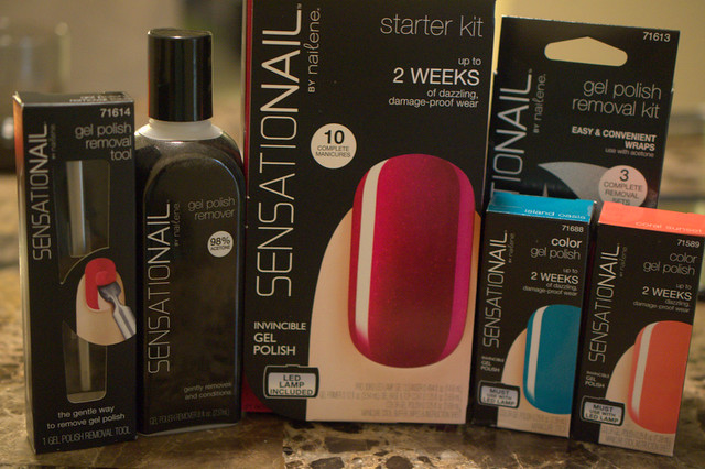 SensatioNail Color Gel Polish Review + giveaway!