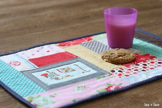 girl patchwork placemat