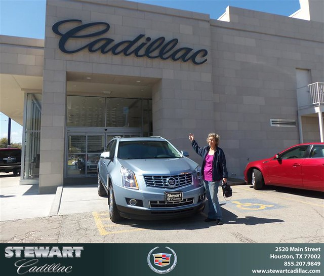 Congratulations To Julia Vilven On The 2013 Cadillac SRX