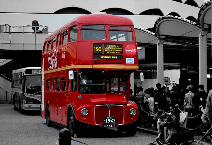 LONDON BUS(ROUTEMASTER RM1164)
