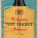 Small photo of Rothmans Test Cricket Almanac 1962-63 series
