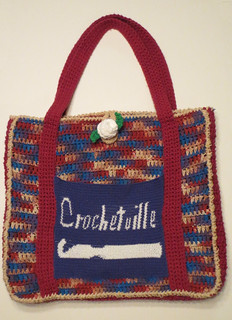 Lining a Crochetville Bag