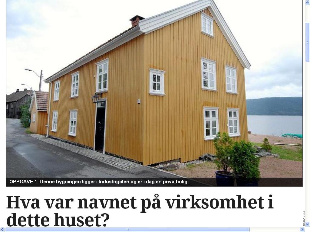 jensen møbler gult hus