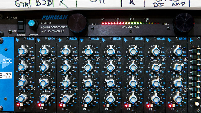 API 550b EQ, Vocal & Bass Added