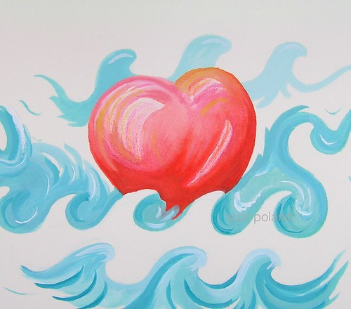 Wave Heart by suzi poland