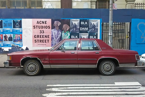 Dutifully serving Grand Marquis in the East Village by jankor