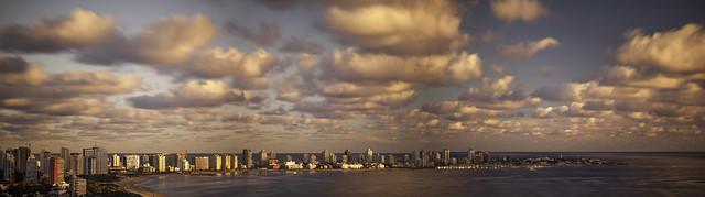 Punta del Este Panorama - Skyline and Clouds  | 130327--jikatu