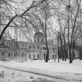 View of the manor Rastorguev-Kharitonov