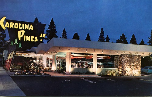 "Carolina Pines ""Jr."", Coffee Shop, Hollywood, California"