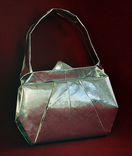 Origami - Bags, shoes and bijouterie