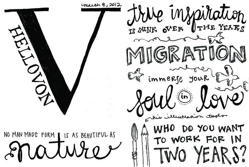 2012 Sketchnotes + Von
