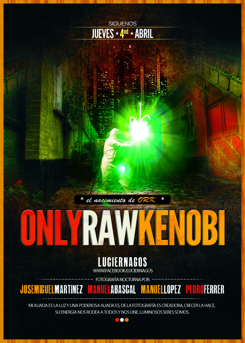 Only Raw Kenobi - próximamente