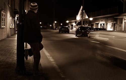 At Night Sepia 210/365