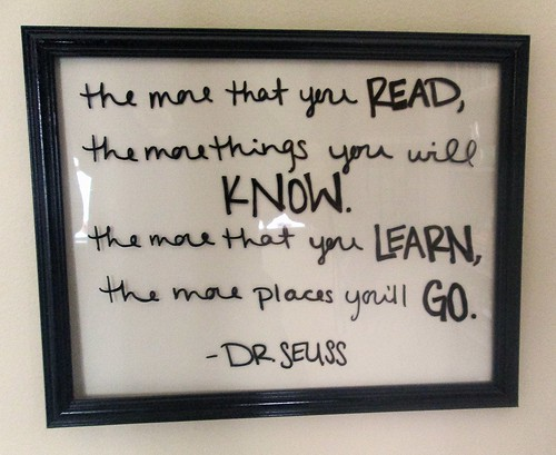 Dr Seuss Quote by SevenDaysBlog