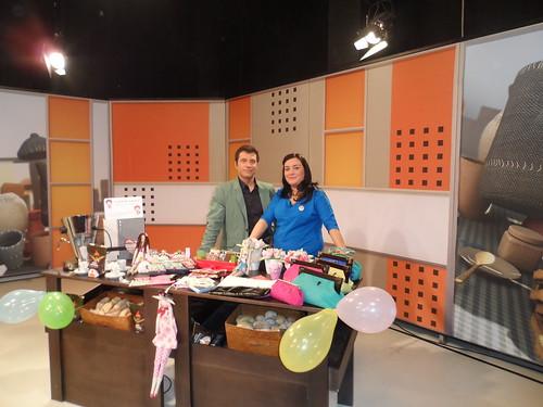 A foto com o apresentador Ricardo Couto  by Linhas Arrojadas Atelier de Costura ® Trademark