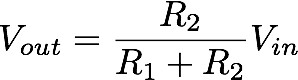 equation for output voltage
