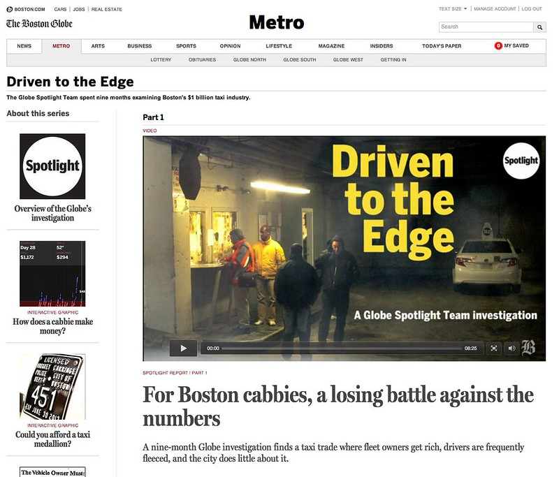 Metro - The Boston Globe