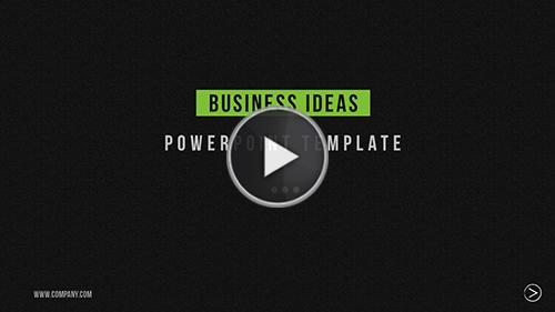 Business Ideas Powerpoint Template
