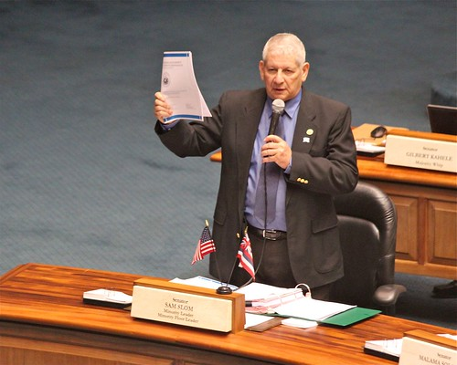 Senator Slom on the State Budget