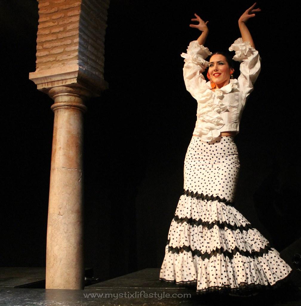 traje flamenca vintage