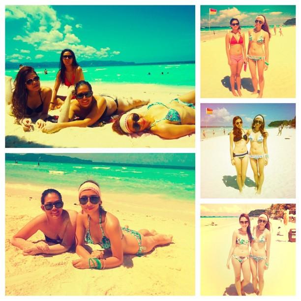 ☀Springbreakers gone bonkers!!! ☀ @kamillevillamor @guiapaula @janinalazaro #boracay #summer #girlfriends