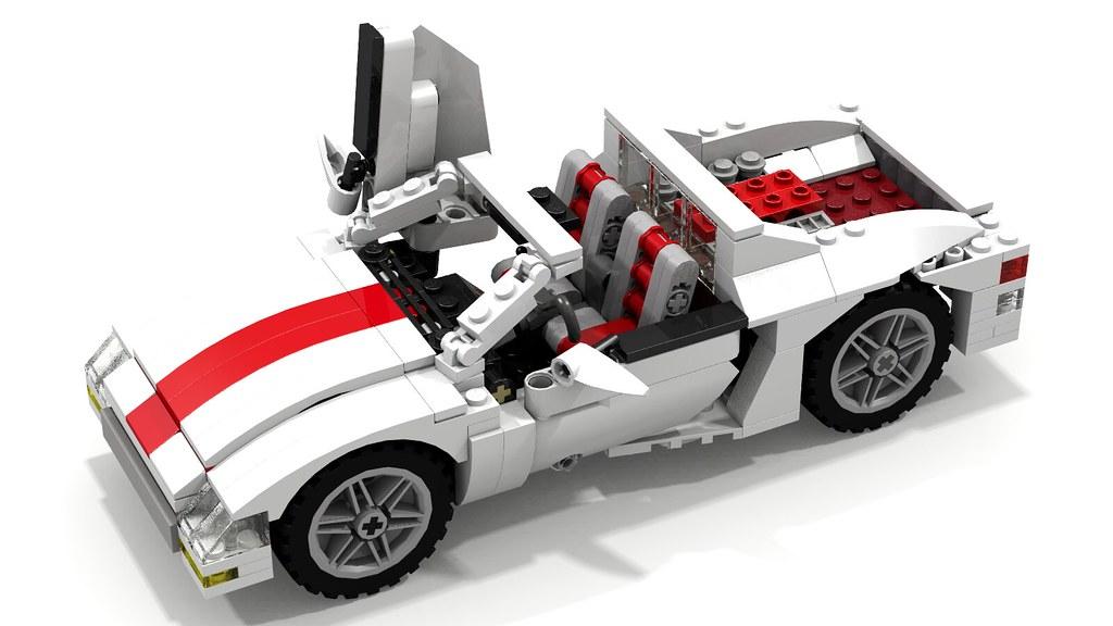 Catalana Lego Sports Car A Photo On Flickriver
