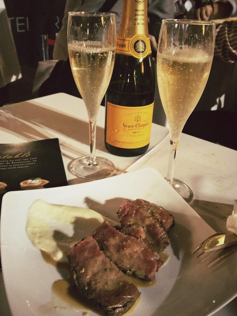 Savour 2013 - Stellar @ 1-Altitude - Kobe C Rib of Beef, Foie Gras Sauce