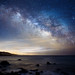 Milky Way Rising over Gerstle Cove, Salt Point State Park, CA by Bill Shupp