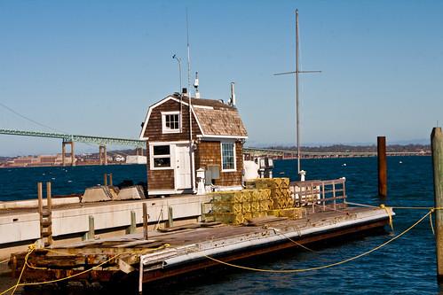 Harbormaster Office by Macedo295 via I {heart} Rhody