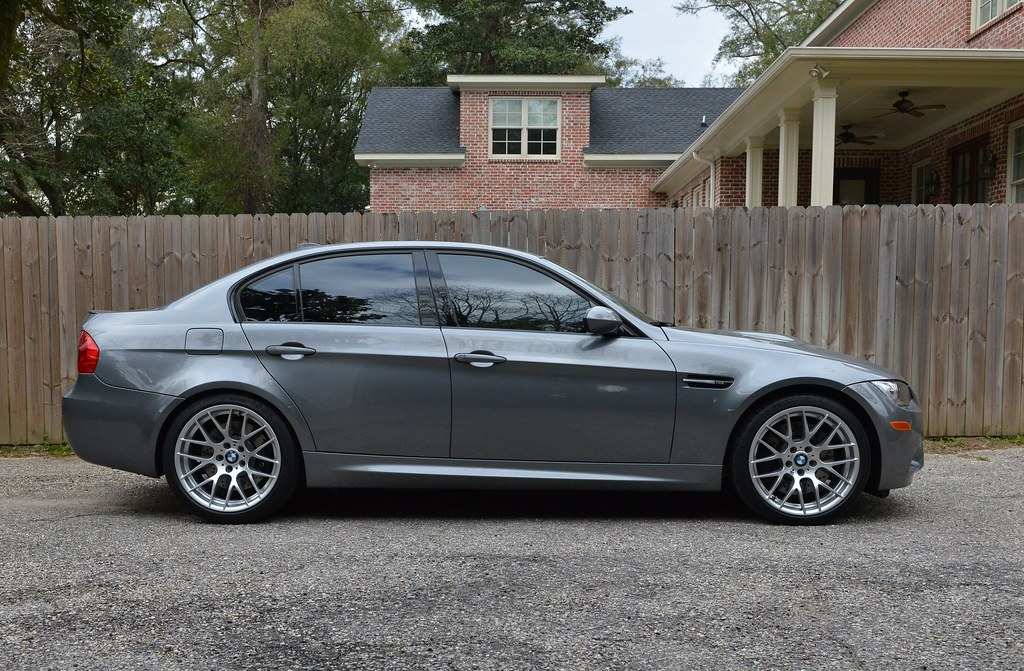 Got Eibachs Installed On My E90 Before And After Bmw M3 Forum E90 E92