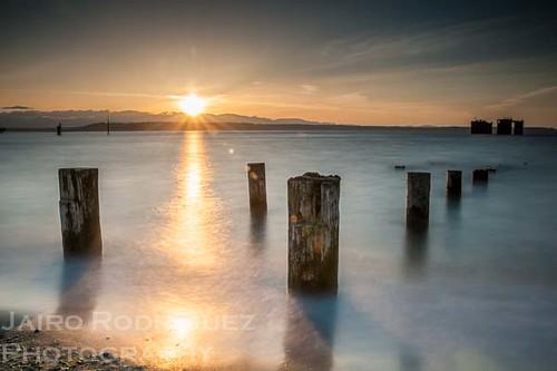 longexposure sunset beach landscape sound puget edmonds bigstopper