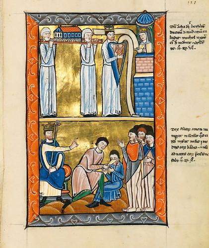 017-Salterio dorado de Múnich-1200-1225 d.C- Biblioteca Estatal de Baviera (BSB)