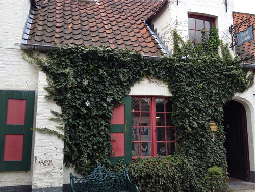 Bruges - lace shop exterior