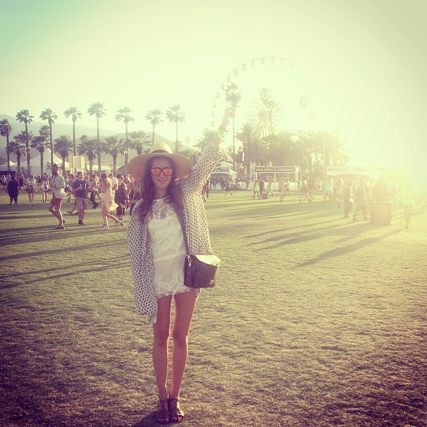 Look of the Day.256: Coachella 2013 Day 1