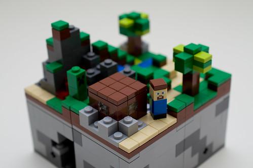 Minecraft Micro World LEGO Set