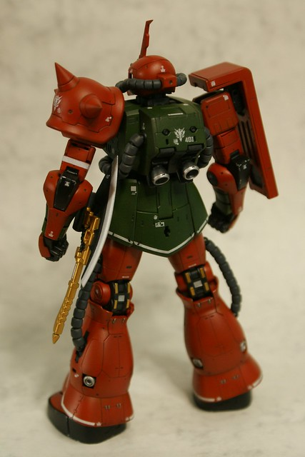 "Real Grade - MS-06FS Zaku II ""Garma Zabi Custom"" - Completed 4 -"