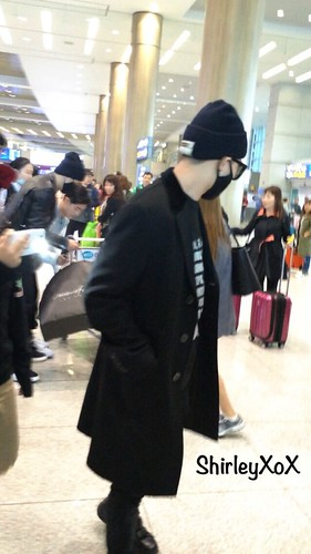 Big Bang - Incheon Airport - 10apr2015 - G-Dragon - Hi_Shirleyxox - 10